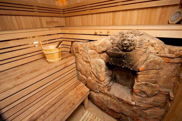 Как сделать баню своими руками из камня